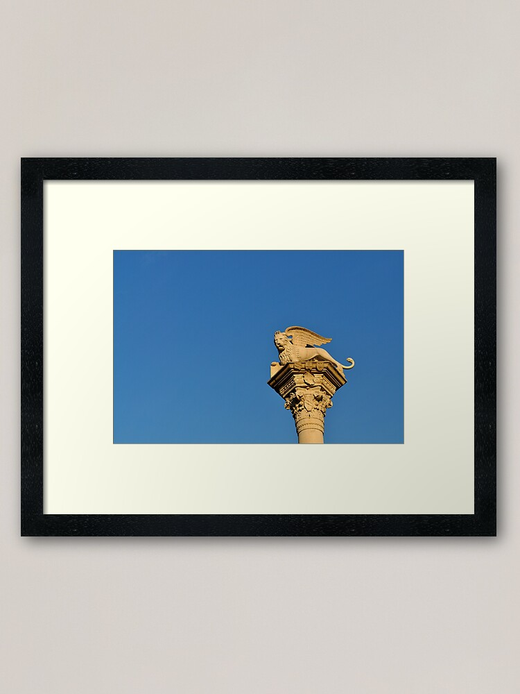 Alternate view of Blue Sky, Vicenza Framed Art Print