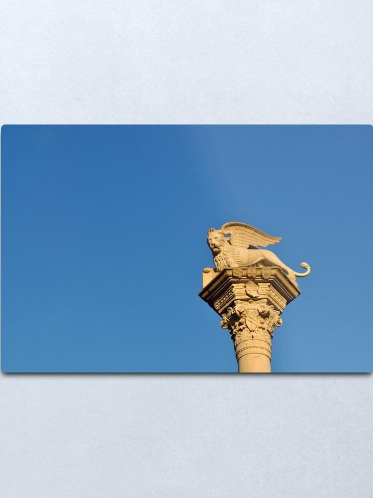 Alternate view of Blue Sky, Vicenza Metal Print