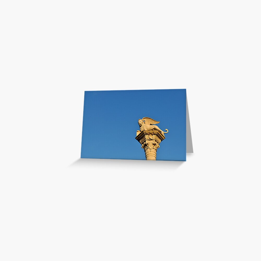 Blue Sky, Vicenza Greeting Card