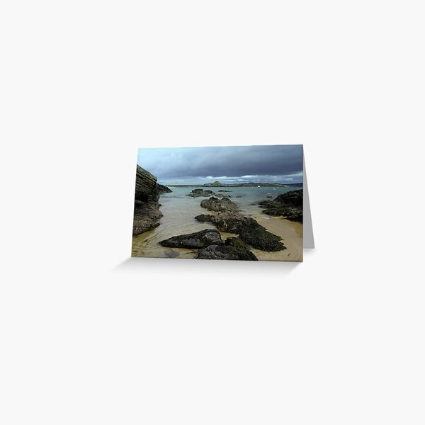 The beach at Talmine Greeting Card