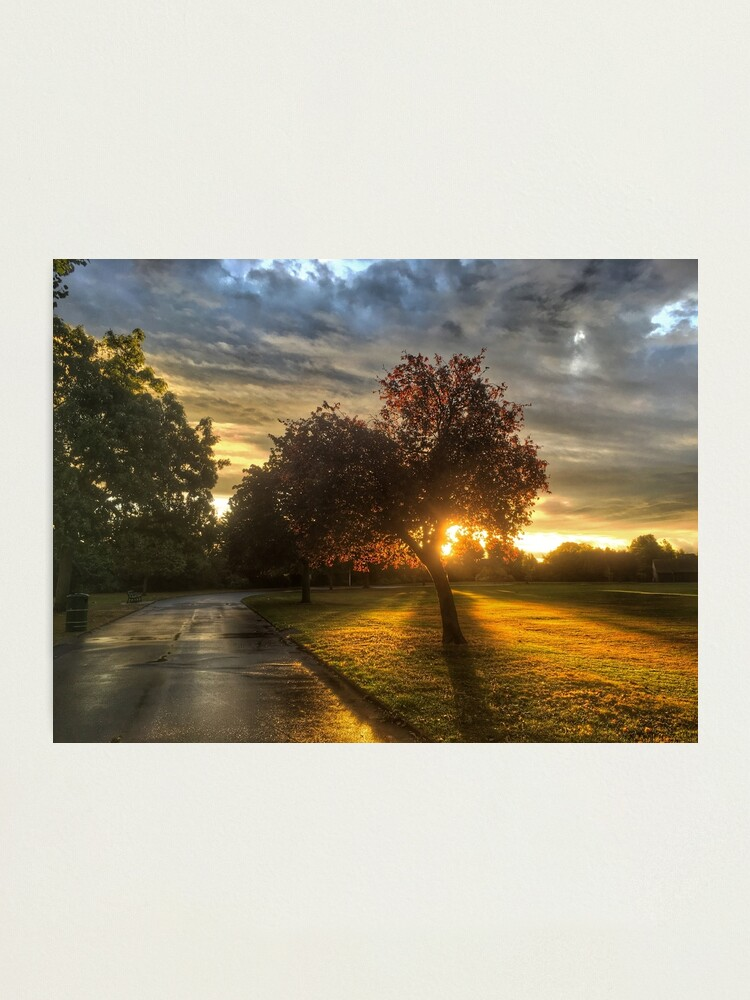 Alternate view of After the rain, comes the Sun  Photographic Print