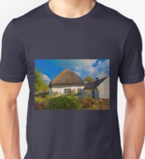 Ireland. Adare. Thatched Cottage. Unisex T-Shirt