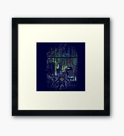 come to daddy Framed Print