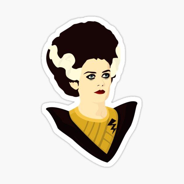 Magenta Sticker