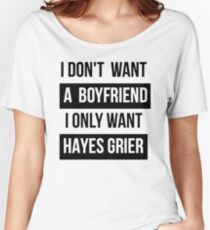 HAYES GRIER MAGCON  Women's Relaxed Fit T-Shirt
