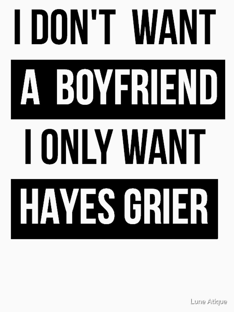 HAYES GRIER MAGCON  | Unisex T-Shirt