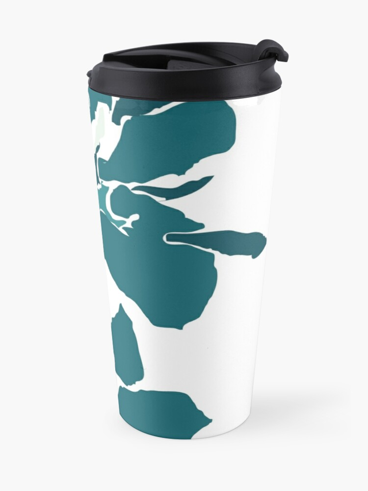 Alternate view of Orchards 2 in Teal Travel Mug