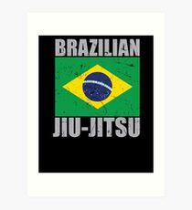 Brazilian Jiu Jitsu (BJJ) Art Print