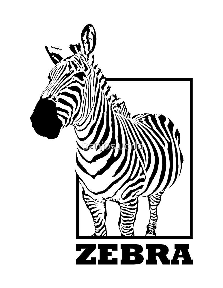 Zebra by banjosworld