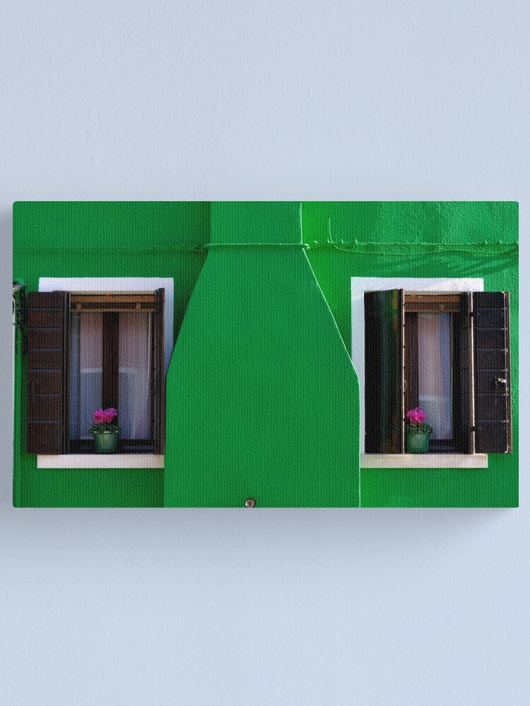 Alternate view of A Whole Lot of Green Canvas Print