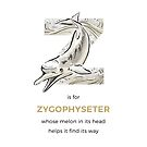 Z is for Zygophyseter by Franz Anthony