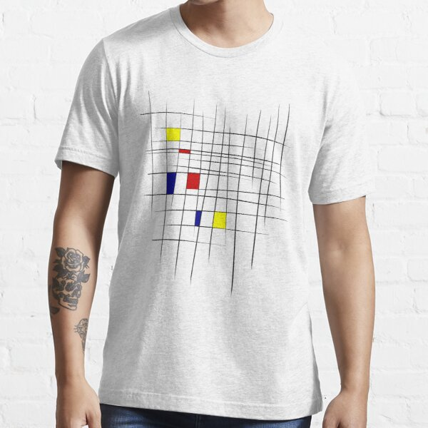 Sketchy Mondrian Essential T-Shirt