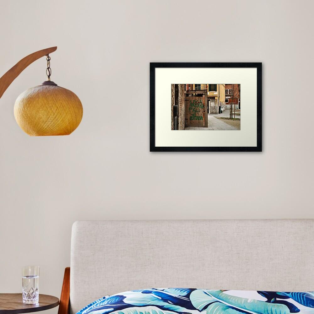 Lega Padana... Framed Art Print