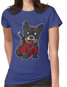 CorgiPool Womens Fitted T-Shirt
