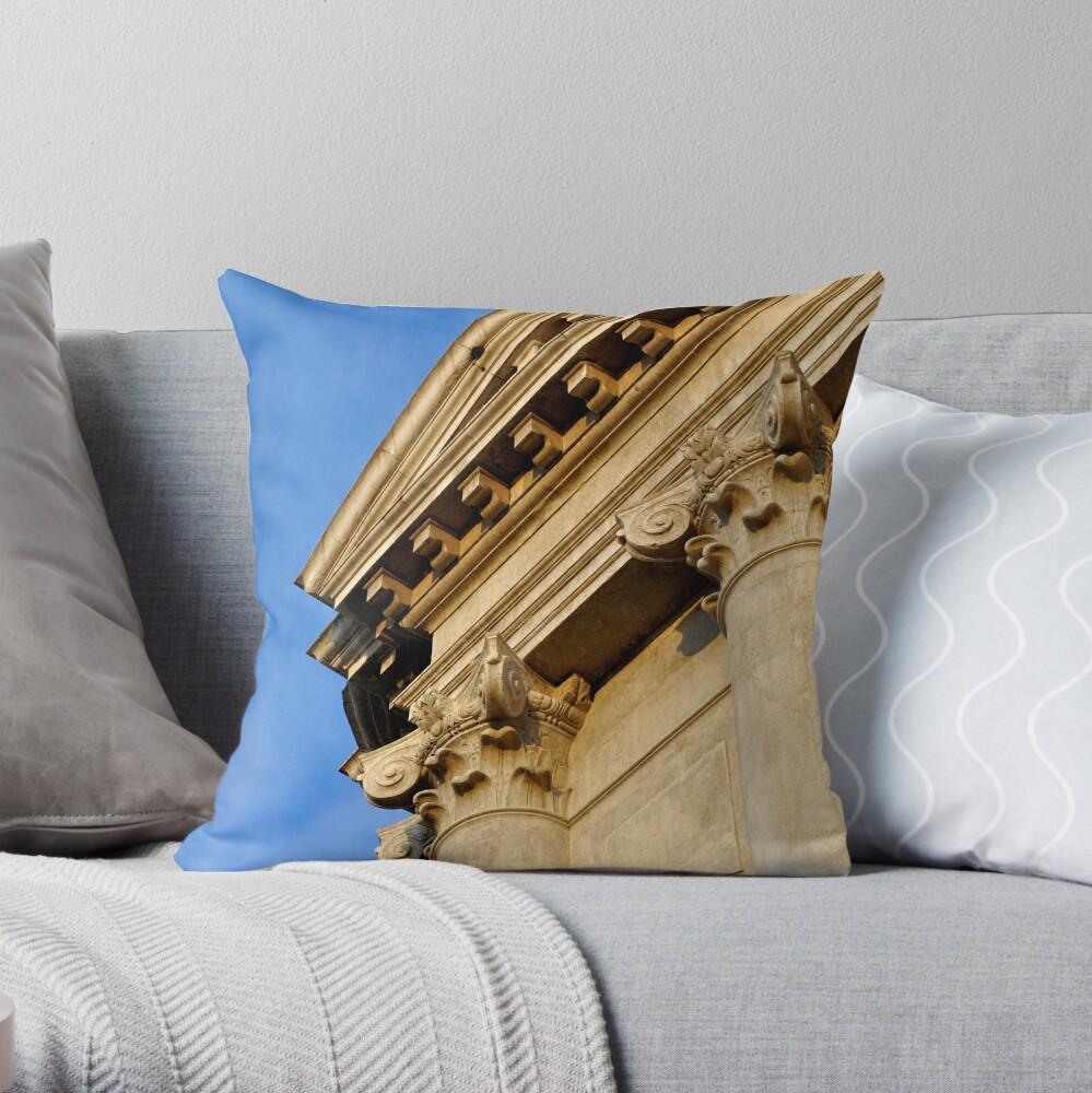 A Corner of San Barnaba Throw Pillow