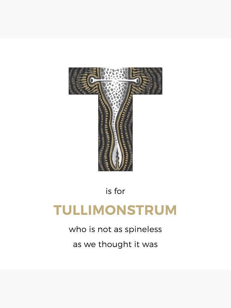 T is for Tullimonstrum by franzanth