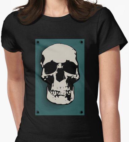 Skull - Sherlock Womens Fitted T-Shirt