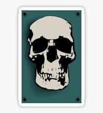 Skull - Sherlock Sticker