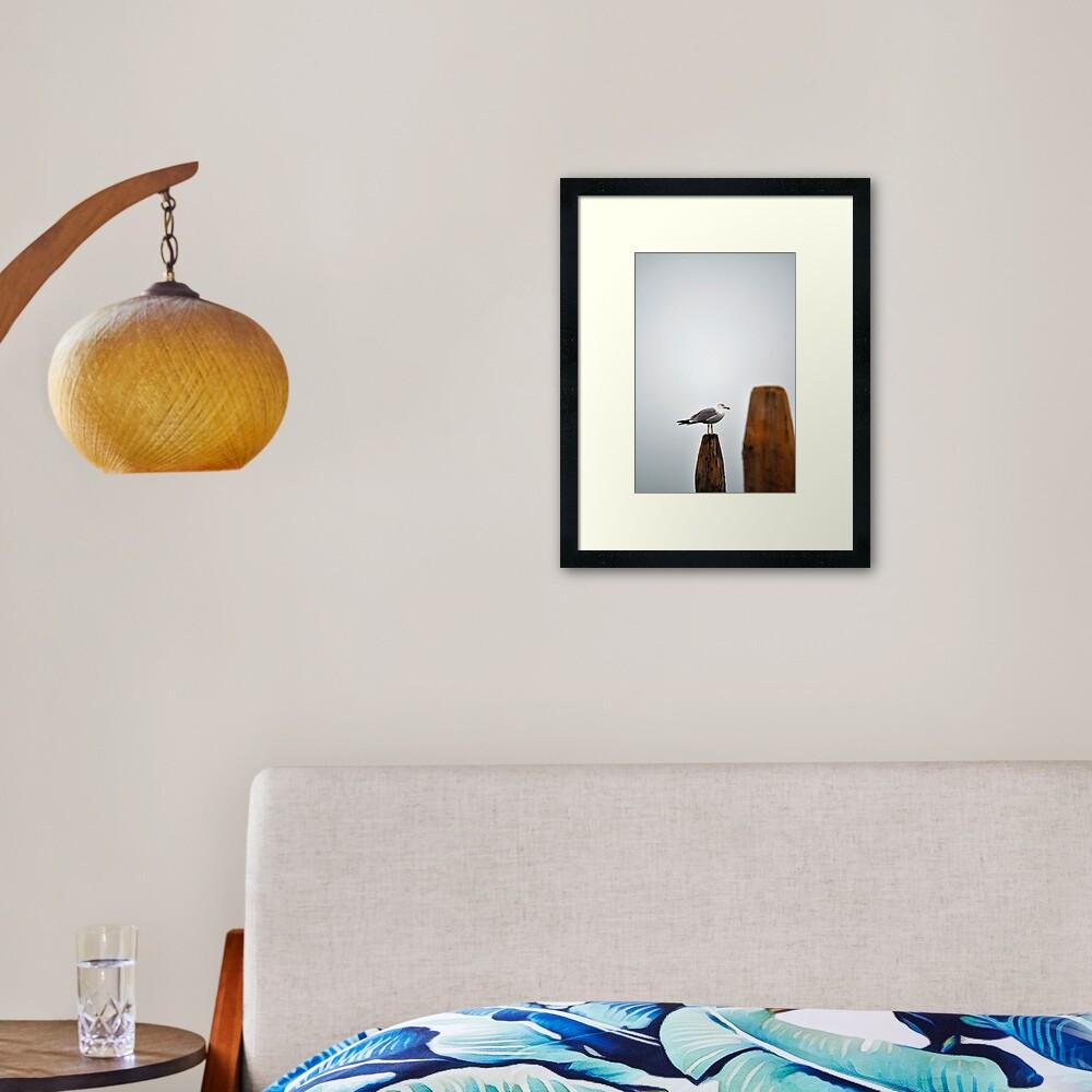 A Fine Profile Framed Art Print