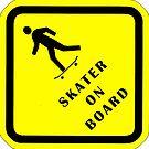 Skater On Board sticker by JP Grafx