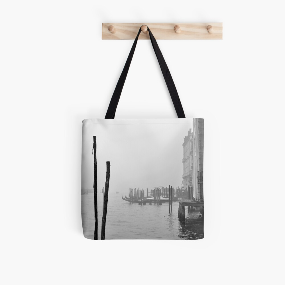 A Foggy Day in Venice Tote Bag