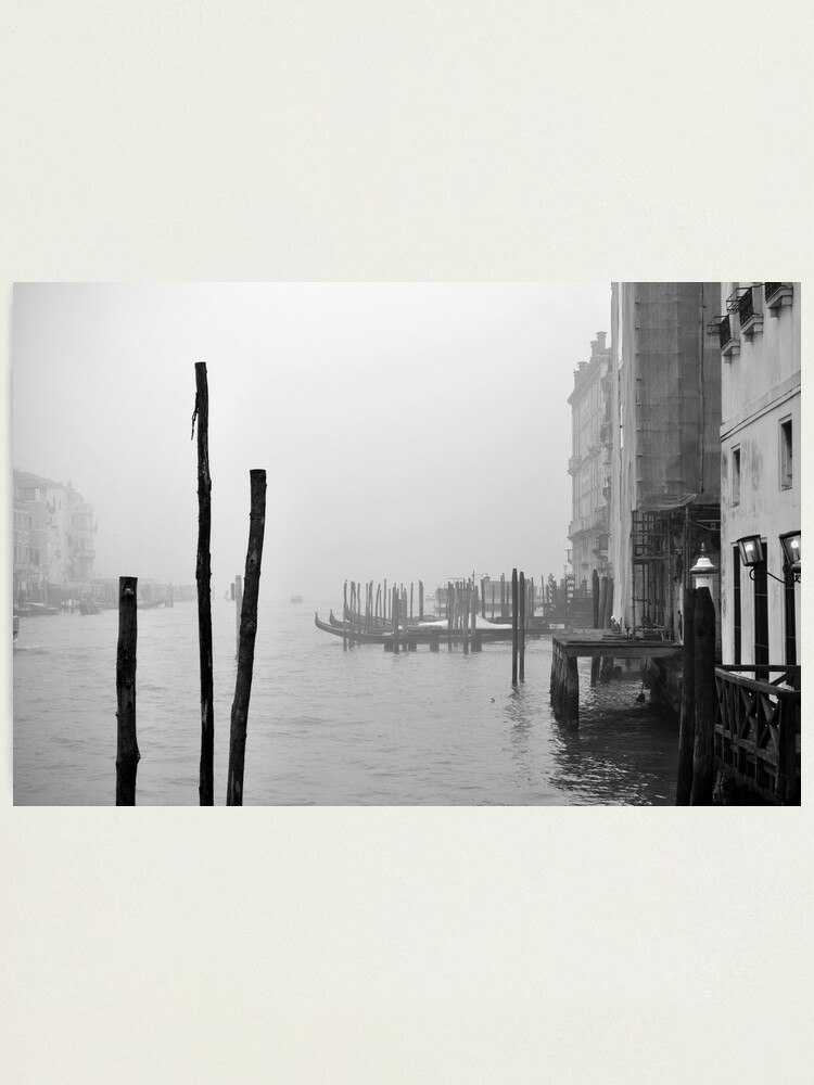 Alternate view of A Foggy Day in Venice Photographic Print