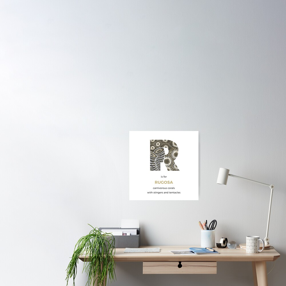 R is for Rugosa Poster
