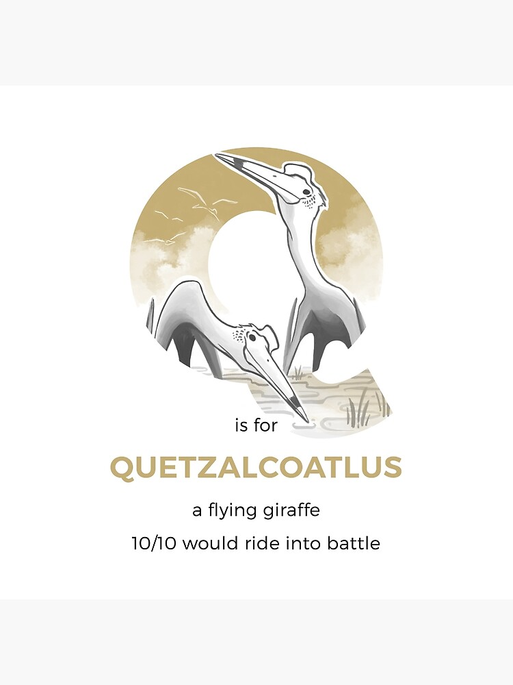 Q is for Quetzalcoatlus by franzanth