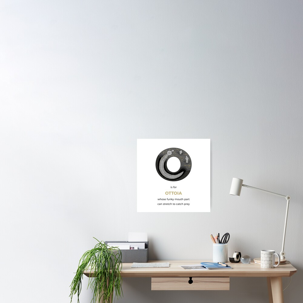 O is for Ottoia Poster