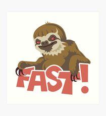 FAST! Kunstdruck