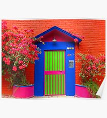 tropical colors II - colores tropicales Poster