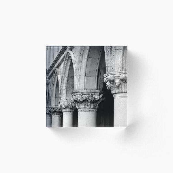 Palazzo Ducale Acrylic Block