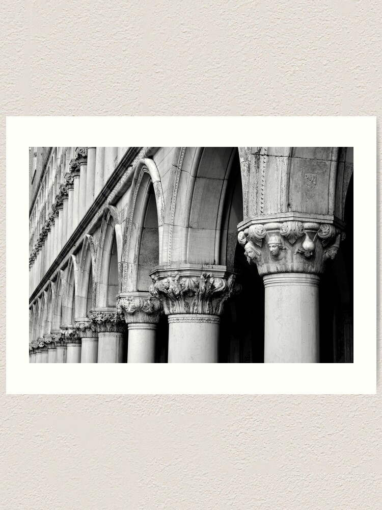 Alternate view of Palazzo Ducale Art Print