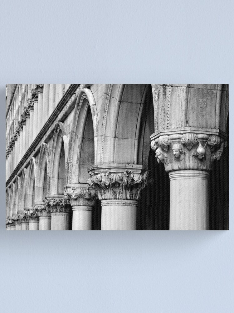 Alternate view of Palazzo Ducale Canvas Print
