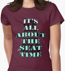 The key to being a good drifter... Women's Fitted T-Shirt