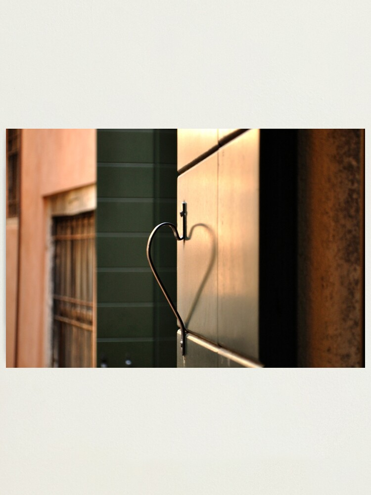 Alternate view of I Heart Venice Photographic Print