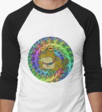 Hypno Toad Trippy Men's Baseball ¾ T-Shirt