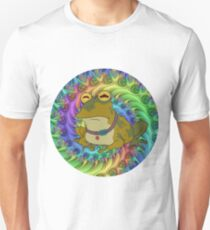 Hypno Toad Trippy Unisex T-Shirt