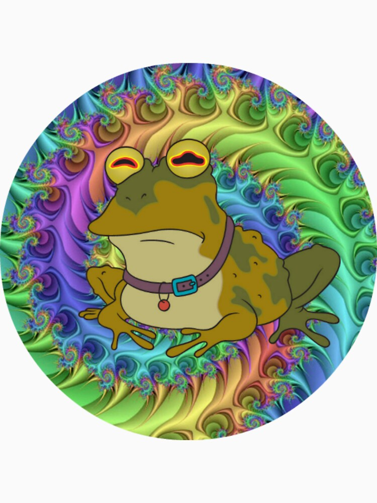 Hypno Toad Trippy | Unisex T-Shirt