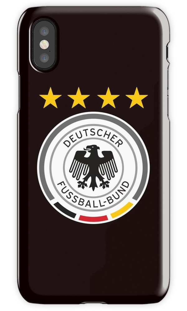 quotgermany soccer logoquot iphone cases amp covers by andy quan