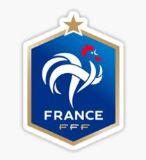 France Soccer Logo Sticker