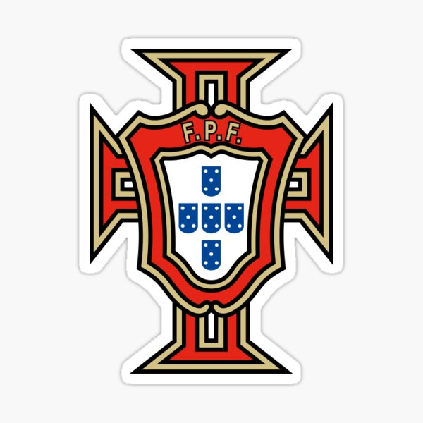 Logo du Portugal de football Sticker