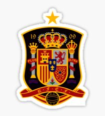 Spain Soccer Logo Sticker