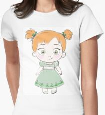 Toddler Anna Women's Fitted T-Shirt