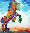 The Colourful Horse by Juhan Rodrik