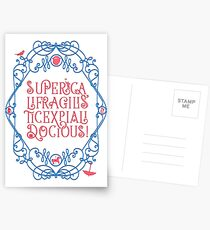 Whimsical Poppins! Postcards