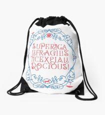 Whimsical Poppins! Drawstring Bag