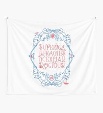Whimsical Poppins! Wall Tapestry