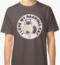 Camiseta clásica Ragdoll Cat Lover Camisetas