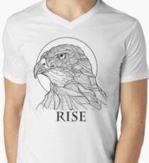 Camiseta para hombre de cuello en v Hawked con tu señor